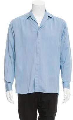 Lanvin Camp Collar Button-Up Shirt w/ Tags