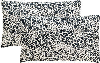 Safavieh Satin Leopard Pillows, Set of Two