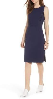 Halogen Knit Sheath Dress (Regular & Petite)