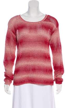 Alice + Olivia Ombré Long Sleeve Sweater