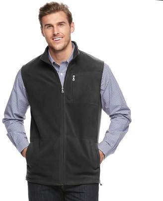 Croft & Barrow Big & Tall Classic-Fit Arctic Fleece Vest