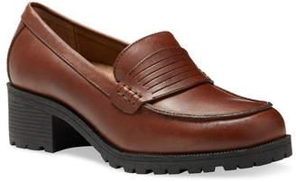 Eastland Women Newbury Block Heel Loafers Women Shoes