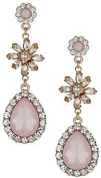 Dorothy Perkins Pastel tear drop earrings