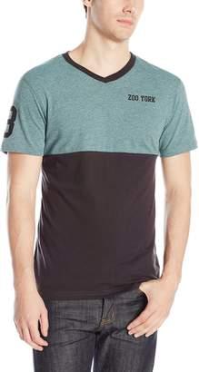 Zoo York Men's Short Sleeve Preseason V Neck Knit Top