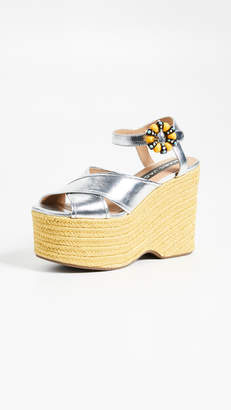 Marc Jacobs (マーク ジェイコブス) - Marc Jacobs Rowan Espadrille Wedges