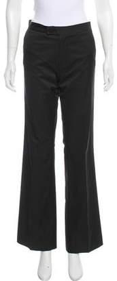 Calypso Mid-Rise Wide-Leg Pants