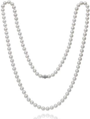 "Assael Akoya 36"" Akoya Cultured 8.5mm Pearl Necklace with White Gold Clasp"