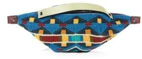 Valentino Multicolored Beaded Leather Belt Bag