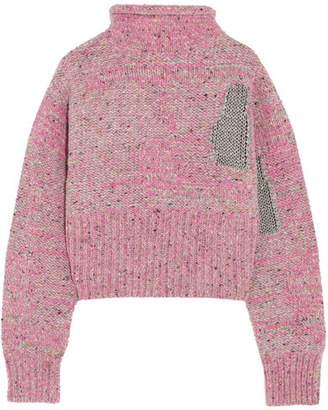 3.1 Phillip Lim - Metallic Wool-blend Sweater - Pink