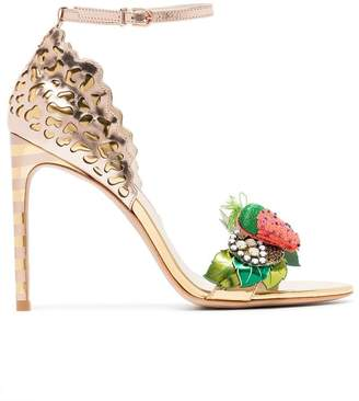 Sophia Webster multicoloured lilico fruit 100 leather sandals