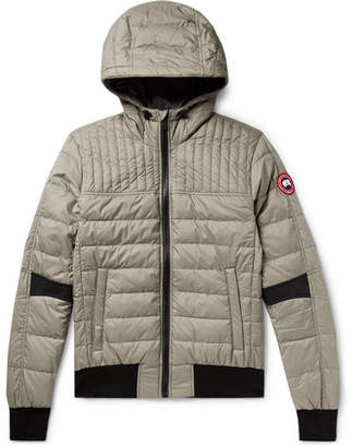 f09ce74578a6 Canada Goose Cabri Quilted Nylon-Ripstop Hooded Down Jacket