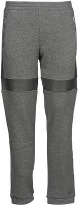 Gosha Rubchinskiy Wool Pant With Fake Leather