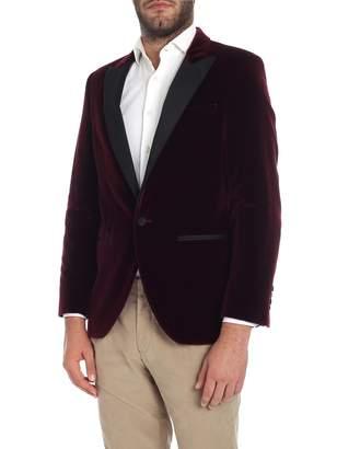 Hackett Jacket Velvet 450245r. Wine