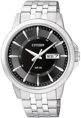 JCPenney Citizen Quartz Citizen Everyday Mens Stainless Steel Watch BF2011-51E