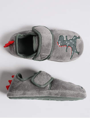 d1c12edec05 Marks and Spencer Kids  Dinosaurs Slippers (5 Small - 12 Small)
