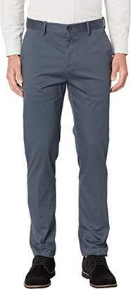 Perry Ellis Men's Slim Fit Total Stretch Resist Spill Chino