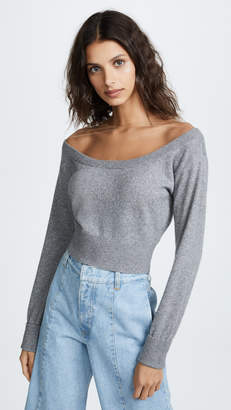 Alexander Wang Cropped Pullover Sweater