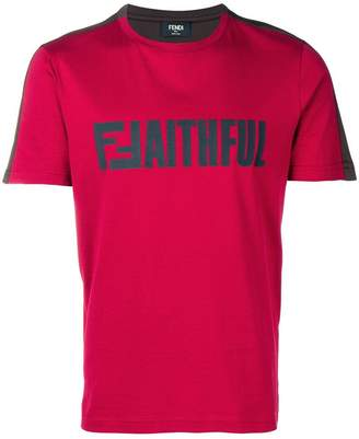 Fendi 'Faithful' T-shirt