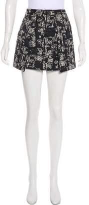 Marissa Webb Textured Mini Skirt