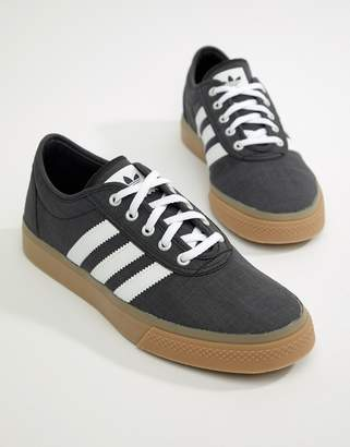 adidas Skateboarding Adi Ease Trainers In Black BY4028