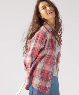 BAYFLOW (ベイフロー) - リネンチェックシャツ
