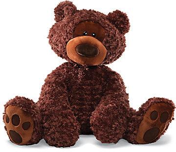 Gund Philbin Jumbo Chocolate Bear