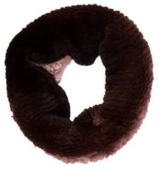Neiman Marcus Fur Infinity Scarf