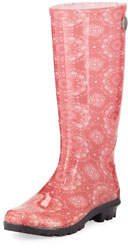 Shaye Bandana Rubber Rain Boots