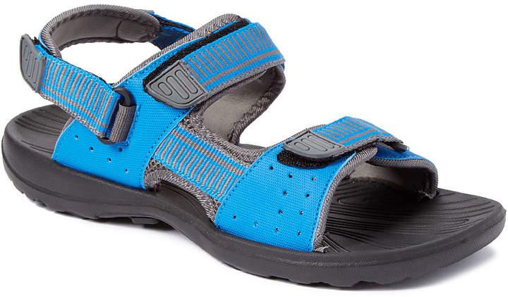 Blue & Gray Sandal - Adult