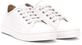 Lanvin Enfant logo low-top sneakers