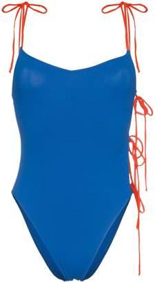 ACK Tintarella side tie swimsuit