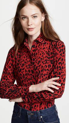 Robert Rodriguez Leopard Shirt