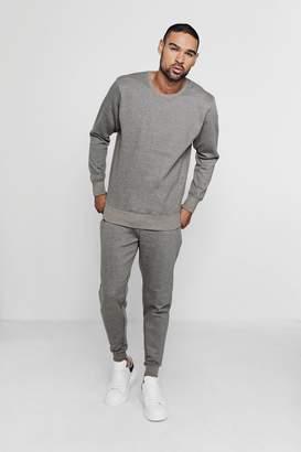 boohoo Twisted Yarn Sweater Tracksuit
