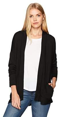 Stateside Women's Viscose Fleece Open Cardigan