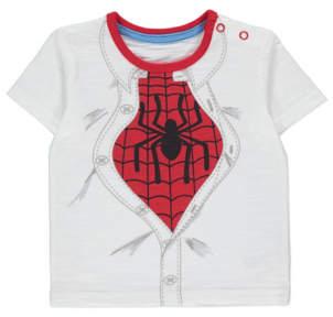 George Marvel Spider-Man Slogan T-Shirt