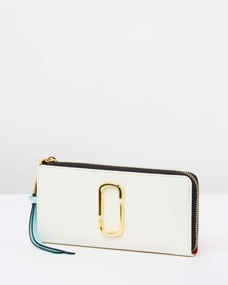 Marc Jacobs Half Zip Around Wallet