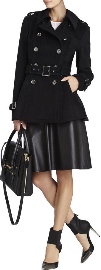 BCBGMAXAZRIA Camber A-Line Skirt