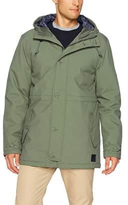 RVCA Men's No Boundaries Parka Jacket