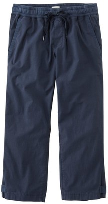 L.L. Bean L.L.Bean Women's Stretch Ripstop Pull-On Capri Pants