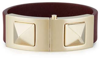Valentino Rockstud Vitello Cuff Bracelet