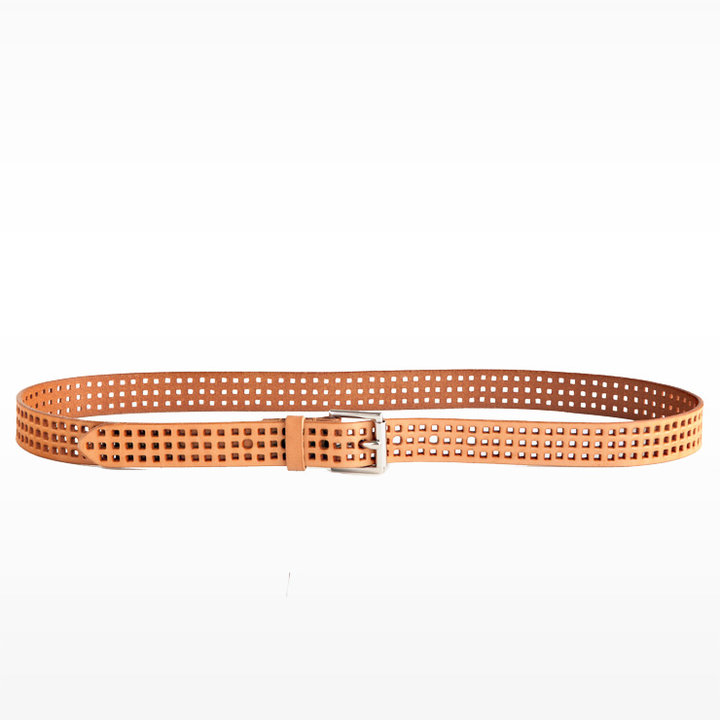 Skinny Square Versatile Perforated Belt