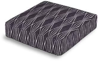 Loom Decor Box Floor Pillow Handcut Shapes - Charcoal
