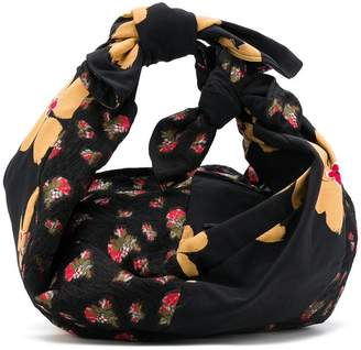 Simone Rocha floral print shoulder bag