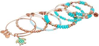 Alex and Ani Color Infusion Go with the Flow Bracelet Set of 5 Bracelet