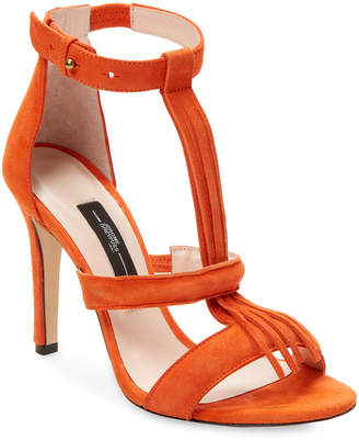 Jerome Dreyfuss Leather Fringe Bea Sandal