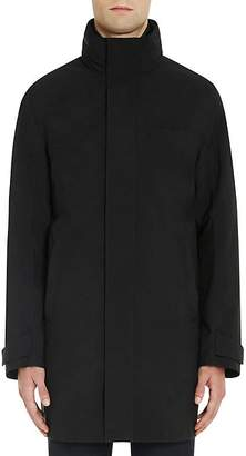 Prada Men's Tech-Fabric Combo Raincoat