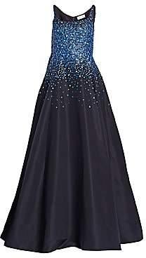 Ahluwalia Women's Lefaye Ballerina Embroidered Gown