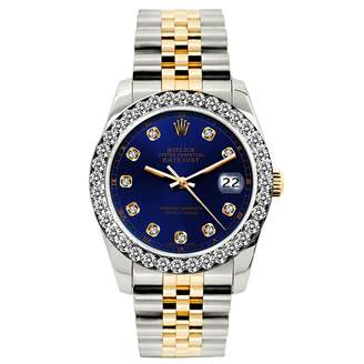 Rolex Lady DateJust 26mm Blue gold and steel Watches