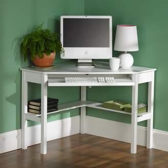 Wildon Home Corina Solid Wood Corner Computer Desk