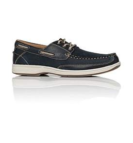 Florsheim Florida Leather Boat Show W/ Rubber Sole